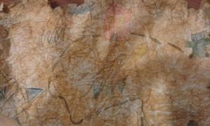 ilustrační obrázek staré mapy