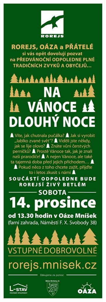 14. prosince od 13:30 hodin v OÁZE Mníšek